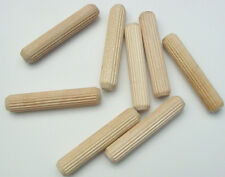 "Multi Groove Glue Dowel 3/8"" x 2"" Package of 50"