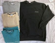 NWT Men Columbia Hart Mountain II Crew Neck Sweatshirt Pullover Fleece Shirt LS