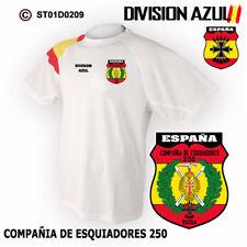 CAMISETAS TECNICAS: DIVISION AZUL / COMPAÑIA DE ESQUIADORES 250