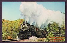 Lmh Postcard 1966 Canadian Pacific 4-6-2 Cp Rail #1286 Doubleheading Excursion