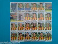 Figurine Calciatori Panini 2011-12 Lecce completo