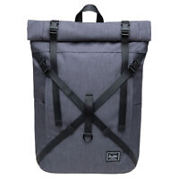 KAUKKO Multifunctional Bag Roll Top Handback Backpack School Laptop Bag College