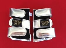 Gymnastics Tiger Paws Metallic Silver Size M - Free Shipping
