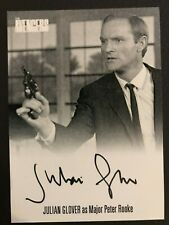THE AVENGERS COMPLETE COLLECTION SERIES 1: AUTOGRAPH CARD: JULIAN GLOVER AVJG2