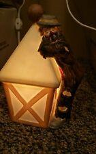 "Vintage Flambro Emmett Kelly Night Light, 7"", Signed, Works!"