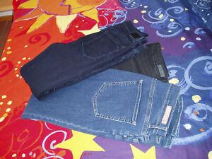 3 Jeans Brax Style Shakira Gr. 44K, dunkelblau, schwarz, jeansblau, skinny