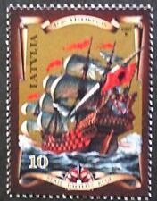 Baltic NAVI A VELA timbro, Galeone, 1997, Lettonia, SG RIF: 470, 1 francobolli, Gomma integra, non linguellato
