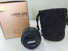 Nikon Nikkor AF-S 50 mm F/1.8 Objectif G