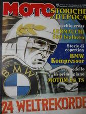 Moto D'Epoca n°10-11 1996 Storie BMW Kompressor - Cross Aermacchi 500 bi [SC.63]