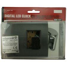 Velleman Digital LED Clock Electronic Project Kit MK151