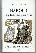 Harold : The Last of the Saxon Kings by Edward Bulwer-Lytton (1970, Hardcover)