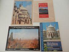 Job Lot 4 x Books. Brighton, History, Pier, Town, Hurricane, Southern England.
