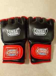 Combat Sports MMA Fight Glove (Size Regular) | Red/Black