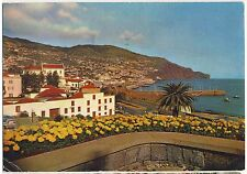 Old Postcard - Funchal (Sea Avenue) - Posted 0286
