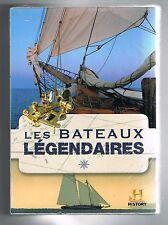 LES BATEAUX LÉGENDAIRES - COFFRET 4 DVD - NEUF NEW NEU