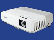Epson PowerLite 84 LCD Projector 2600 LM HD HDMI-adapter 1080i Remote TeKswamp