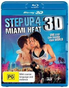 Step Up 4 - Miami Heat ( Disc contains both 3D and DVD ) Australian stock