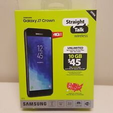 Samsung Galaxy J7 Crown Phone Straight Talk NEW SEALED 16GB 5.5 in Screen 13mp
