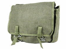 GENUINE RUSSIAN MILITARY MESSENGER BAG Army kit olive satchel canvas bread bag