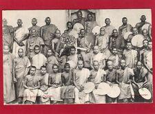 More details for buddhist priests ceylon sri lanka pc unused skeen-photo ak816