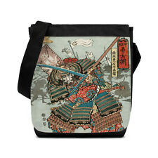 Japanese Samurai Sword Ninja Bag Tablet Crossbody Messenger Shoulder Reporter
