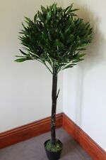 Artificial Plants - 1.25M Tall Artificial Half Standard Olive Plant With Fruits