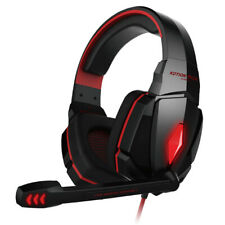 Audifonos Alambricos Gaming Headset with Mic /& Gold Plated 3.5mm Plugs for Gamer