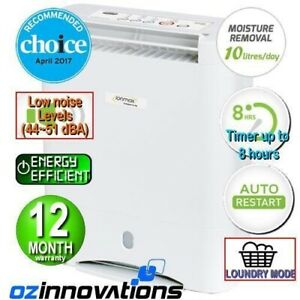 Ionmax ION632 Desiccant Dehumidifier Air Filter Andatech Remove Moisture Mould