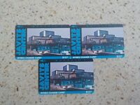 Set of three (3) Javitzs Center $10 NYNEX Change cards - unused