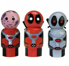 Marvel PinMate Deadpool Complete Set Of 3
