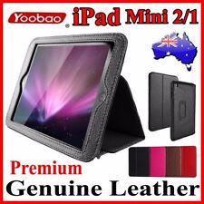 Premium YOOBAO Genuine Leather Stand Case For iPad Mini 2/1 Executive Fold Cover