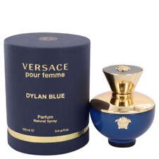 VERSACE DYLAN BLUE POUR FEMME WOMEN,S PERFUME 3.4 OZ EDP NIB