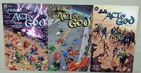 JLA Act of God #1 2 3 Elseworlds Dc Comic 2001 unread NM