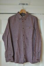 Carhartt L/S Shirt W.I.P. Burgundy Heather