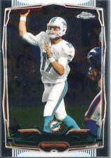 Topps Chrome Football 2014 Veteran Card #23 Ryan Tannehill - Miami Dolphins