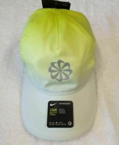 Nike Featherlight Dri Fit Bright Yellow Running Cap Hat