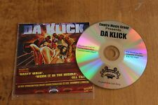 Da Klick  - USA promoCD / Nasty Walk - Work in the Middle - All That