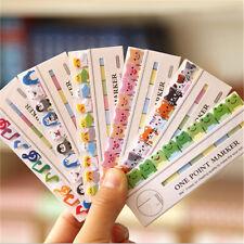 1x Cute Penguin Bear Mini Sticker Bookmark Sticky Notes Tab Pad Note -34707