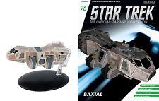Eaglemoss Diecast Star Trek St0076 Talaxian Drexia-class freighter & Magazine 76