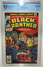 BLACK PANTHER #1 First Issue 1977 CBCS>CGC 9.2 Vintage JACK KIRBY Art and Story