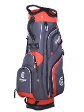 Cleveland Golf Cart Bag - Charcoal/red
