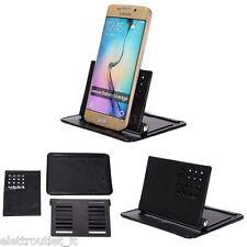 Supporto Tappetino Auto cruscotto inclinabile per Samsung Galaxy S6 EDGE PLUS