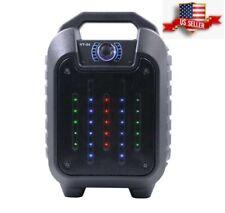 Portable Powered Wireless Bluetooth Speaker Rechargeable Loudspeaker Usb Tf Fm