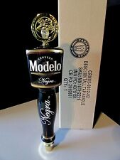 "New 13"" Negra Modelo w/ Medallion Cerveza Tall Beer Bar Tap Handle Kegerator"