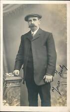 Gentleman moustache newsboy cap  vintage  RP QR1361