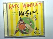 Andy Stanton Kate Winslet - You're a Bad Man, Mr Gum (Audio 2 CD) Mint