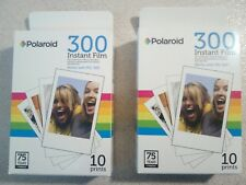 2x Polaroid 300 Instant Film - EXPIRED 10/2016 - For PIC-300 - POLPIF300 - AS-IS