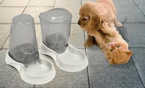 Automatic Water Gravity Bow lDispenser Dog Cat Waterer Drink  1.5 Liter X-Small