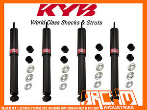 FRONT & REAR KYB SHOCK ABSORBERS FOR FORD COURIER 2WD 11/2002-07/2004