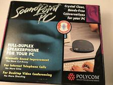 Polycom Soundpoint Pc Speakerphone Full Duplex 180 Degree Pickup Free Shipping